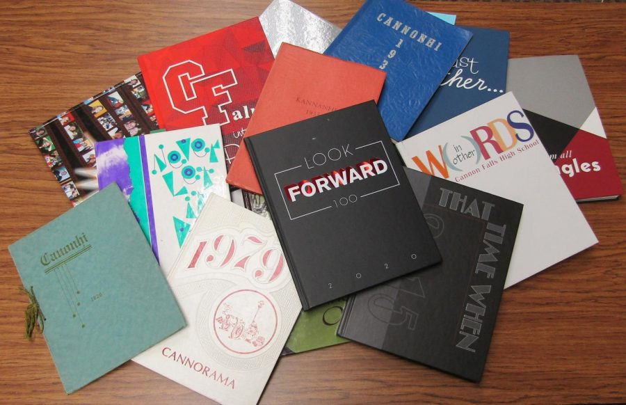 Yearbooks have always been a fabulous way to treasure the memories created at CFHS.