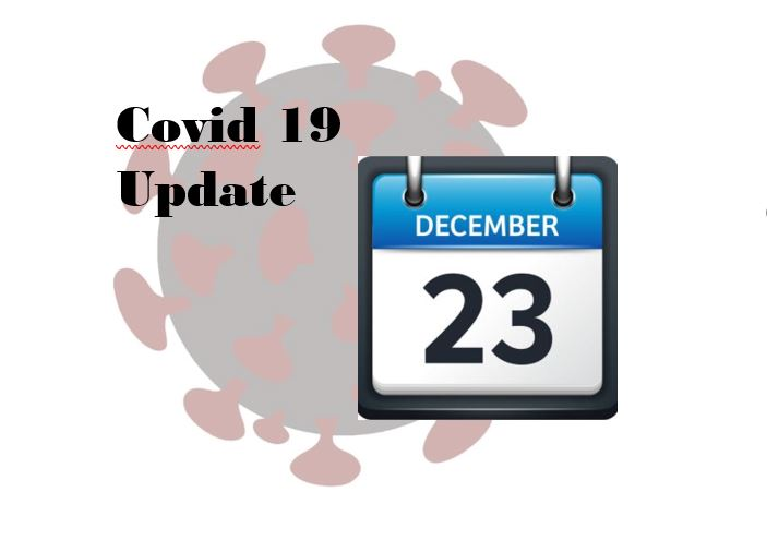 The new Covid-19 vaccine is becoming more available to healthcare workers, and school sports may return to in-person practices starting on January 4.