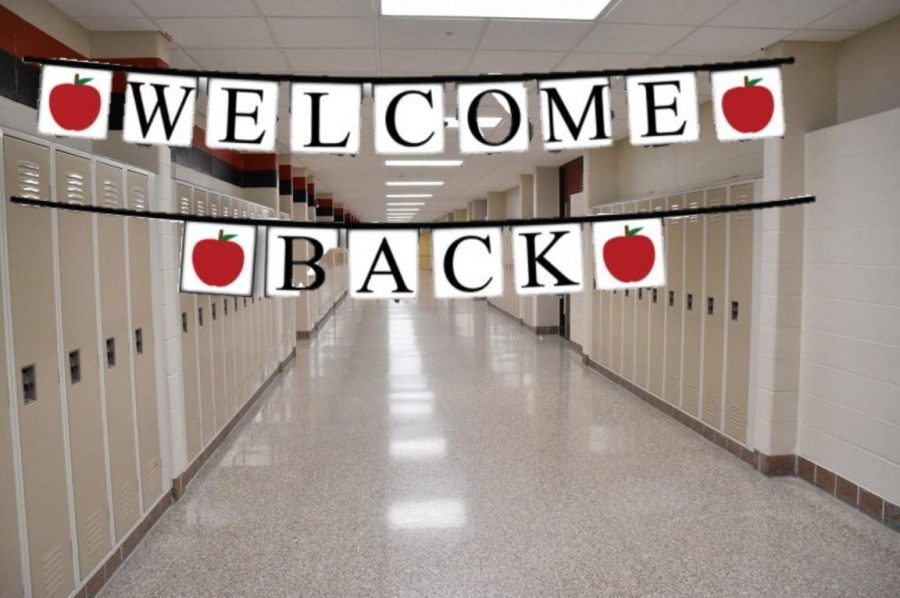 Welcome back to the building