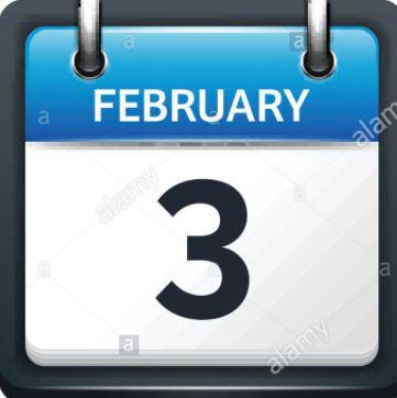 Feb. 3