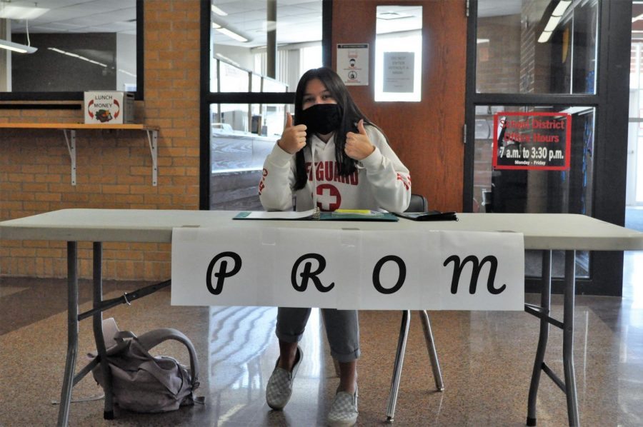 Tickets for prom will be sold during first and second high school lunch  from April 5-April 22.