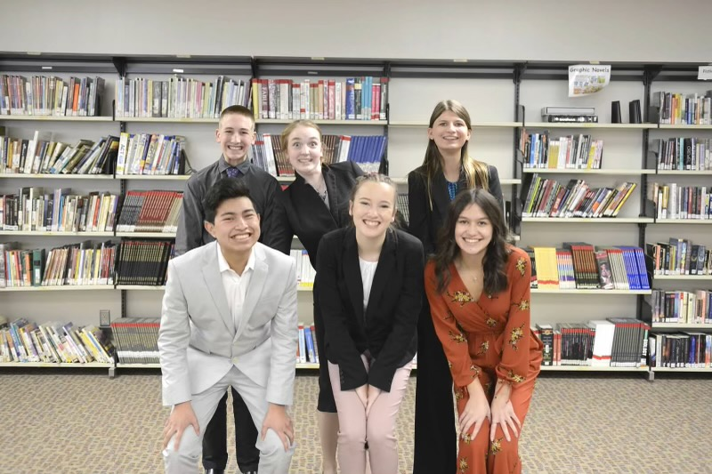 This year, the Cannon Falls Speech Team has six wonderful captains.