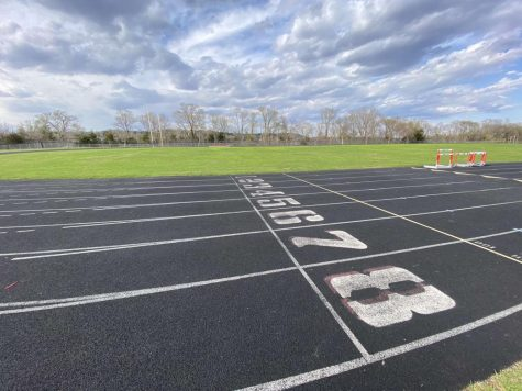 For a few weeks, the Cannon Falls High School track lacked the drum of tennis shoes tapping the rubber.