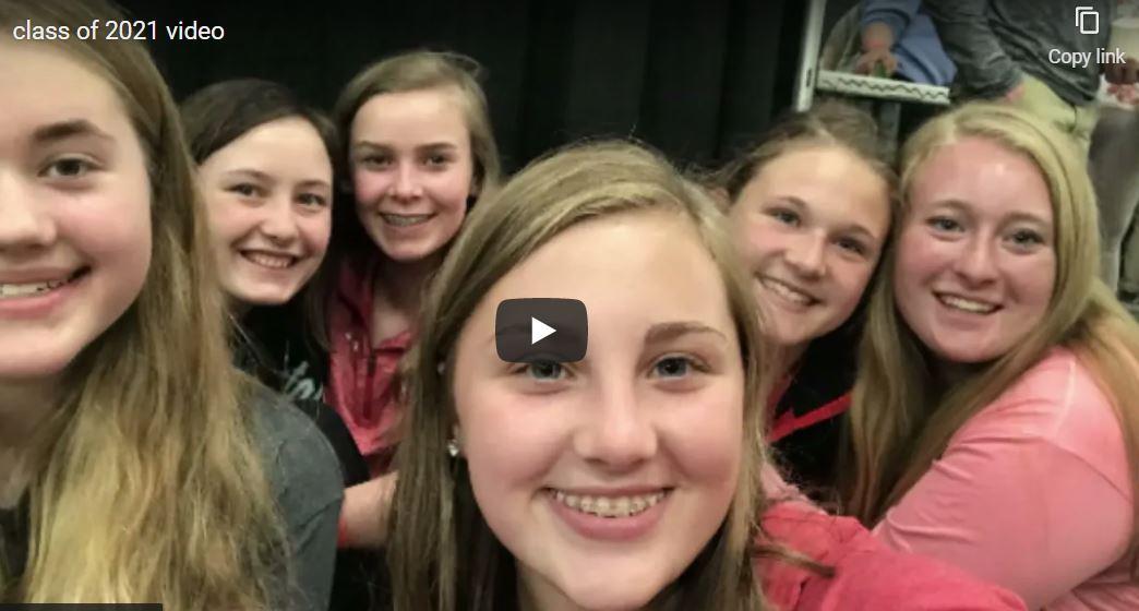 Senior class video 2021