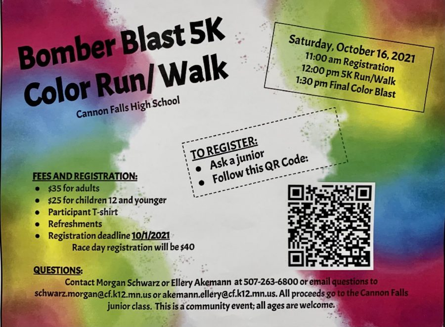Bomber+Blast+5k%2C+the+annual+color+run%2C+is+on+October+16th.