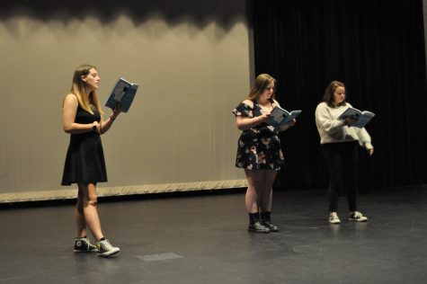 On audition day, CFHS students acted their hearts out in an attempt to get their choice roles in this years musical.